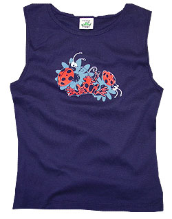 Peace Frogs Junior Ladybugs Tank Top