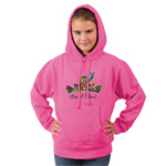 Peace Frogs Heart and Soul Youth Hooded Pullover Sweatshirt