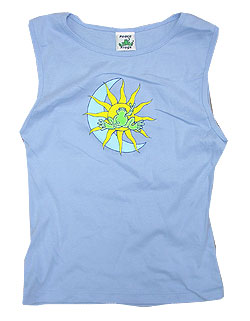 Peace Frogs Junior Celestial Tank Top