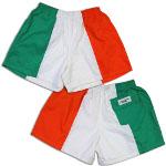 Peace Frogs Ireland Flag Shorts