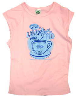 Peace Frogs Junior Lily Pad 95/5 Muscle Tank Top