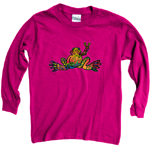 Peace Frogs Hope Long Sleeve Kids T-Shirt