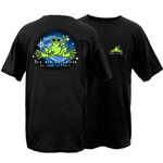 Peace Frogs You Are Not Alone Frog Short Sleeve T-Shirt