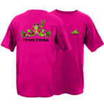 Peace Frogs Flip Frog Short Sleeve T-Shirt