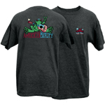 Peace Frogs Adult American Beauty Frog Short Sleeve T-Shirt