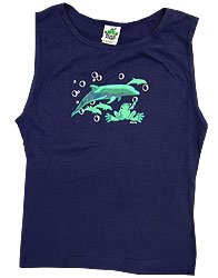 Peace Frogs Junior Dolphins Tank Top