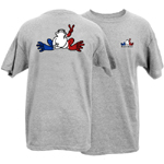 Peace Frogs France Frog Short Sleeve T-Shirt