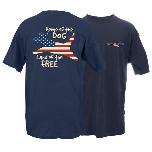 American Dog Peace Dogs Short Sleeve Garment Dye T-Shirt