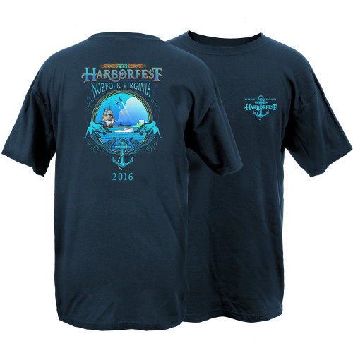 2016 Harborfest Short Sleeve T-Shirt