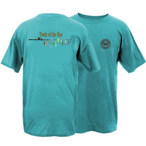 Chesapeake Tides Tools of the Bay Garment Dye Short Sleeve T-Shirt