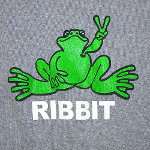 Peace Frogs Junior Ribbit Long Sleeve T-Shirt