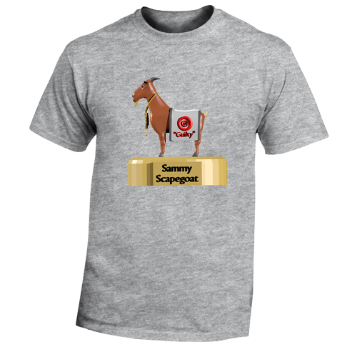Beyond The Pond Adult Sammy the Escape Goat Short Sleeve T-Shirt