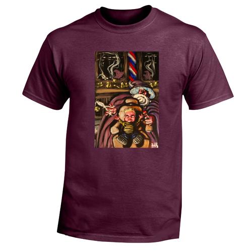 Beyond The Pond Adult Barber Wizard Short Sleeve T-Shirt