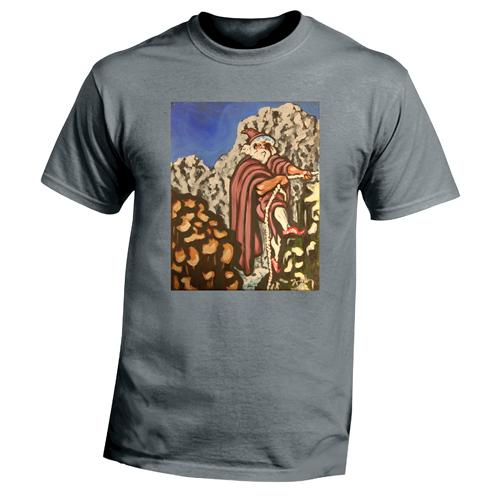 Beyond The Pond Adult Rock Climber Wizard Short Sleeve T-Shirt