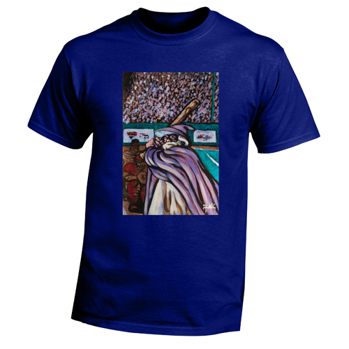 Beyond The Pond Adult Baseball Wizard Short Sleeve T-Shirt