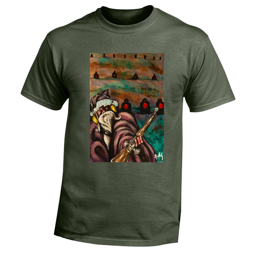 Beyond The Pond Adult Marksman Wizard Short Sleeve T-Shirt