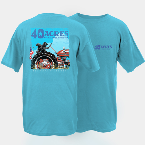 Fourty Acres Drive to Succeed Adult Short Sleeve T-Shirt