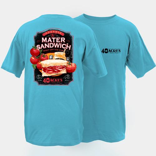 Fourty Acres Matter Sandwich Adult Short Sleeve T-Shirt