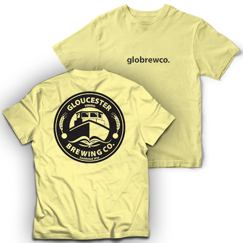 Gloucester Brewing Co Garment Dye Short Sleeve T-Shirt