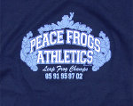 Peace Frogs Junior Frog Champs Football Long Sleeve T-Shirt
