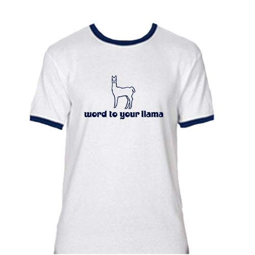 Beyond The Pond Word to Your Mama Ringer Short Sleeve T-Shirt