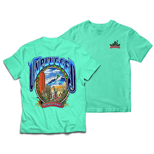 Peace Frogs Adult Unplugged Short Sleeve T-Shirt