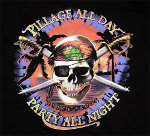 Peace Frogs Adult Pillage All Day Short Sleeve T-Shirt