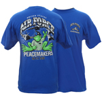 Peace Frogs Adult US Air Force Short Sleeve T-Shirt