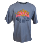 Peace Frogs Adult Live It Up Short Sleeve T-Shirt