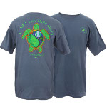 Peace Frogs Adult Live Simply Short Sleeve T-Shirt