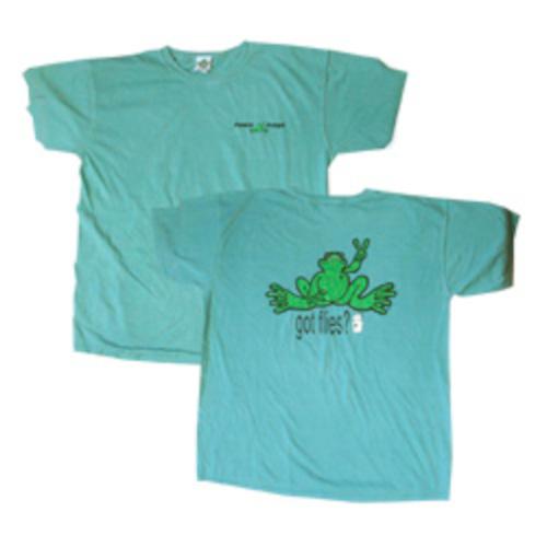 Peace Frogs Adult Milk Garment Dye Short Sleeve T-Shirt