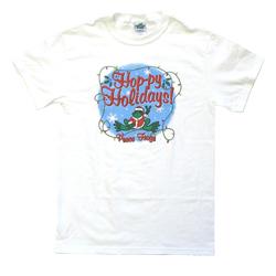 Peace Frogs Hoppy Holiday Short Sleeve T-Shirt