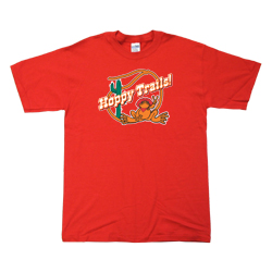Peace Frogs Adult Hoppy Trails Short Sleeve T-Shirt