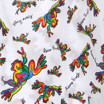 Peace Frogs Kids Retro Boxer
