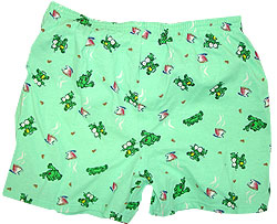 Peace Frogs Adult Coffee Boxer