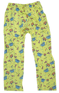 Peace Frogs Kids Bath Time Loungepant