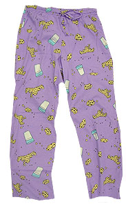 Peace Frogs Kids Milk And Cookies Loungepant
