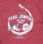 Peace Frogs Adult Cedar Frog Jumping Short Sleeve T-Shirt