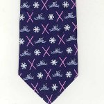 Peace Frogs Ski Neck Necktie