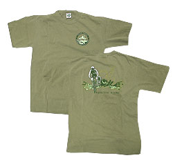 Peace Frogs Adult Mountain Biking Short Sleeve T-Shirt