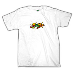 Peace Frogs Adult Fast Food Short Sleeve T-Shirt