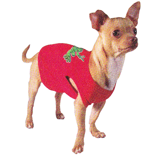 Peace Frogs Green Frog Dog T
