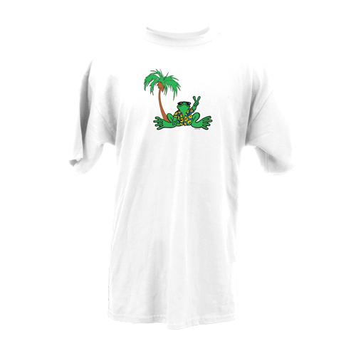 Peace Frogs Adult Hawaiian Short Sleeve T-Shirt