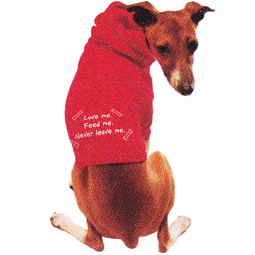 Peace Frogs Doggie Hoodie