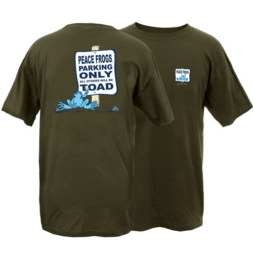 Peace Frogs Toad Zone Short Sleeve T-Shirt