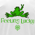 Peace Frogs Adult Surfing Short Sleeve T-Shirt
