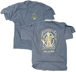 Peace Frogs Adult Amphibian Supply Co Short Sleeve T-Shirt