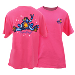 Peace Frogs Adult Night and Day Short Sleeve T-Shirt