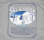 Peace Frogs Granite Ski Lodge Adult Long Sleeve T-Shirt