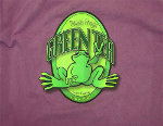 Peace Frogs Adult Green Tea Garment Dye Short Sleeve T-Shirt